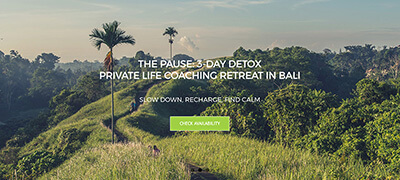 Bali retreas - retreats Bali