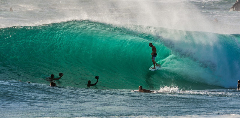 Sports performance for surfers