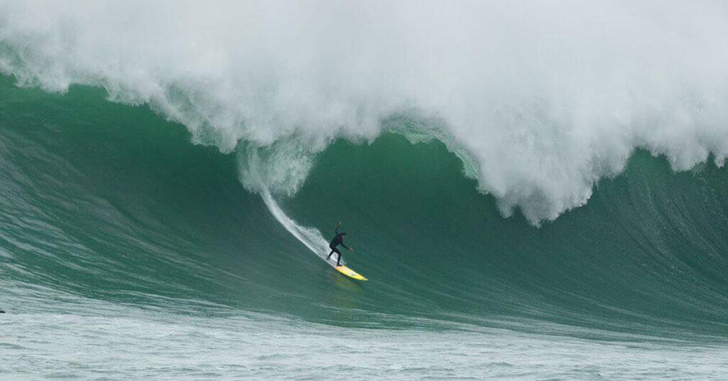 othmane choufani Mavericks big wave surfing